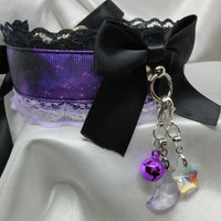 Purple Nebula, Pet Play Collar!