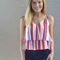 Ships Ahoy Strappy Top
