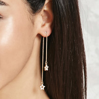 Rhinestone Star Duster Earrings