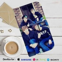 5 Seconds of Summer Leather Wallet iPhone 4/4S 5S/C 6/6S Plus 7| Samsung Galaxy S4 S5 S6 S7 NOTE 3 4 5| LG G2 G3 G4| MOTOROLA MOTO X X2 NEXUS 6| SONY Z3 Z4 MINI| HTC ONE X M7 M8 M9 CASE