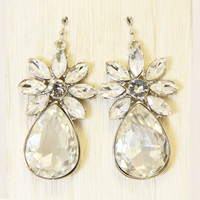 Crystal Effloresce Earrings