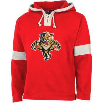 Old Time Hockey Florida Panthers Grant Lace Hoodie