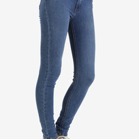 "11"" Highrise Skinny Medium Denim by Just USA"