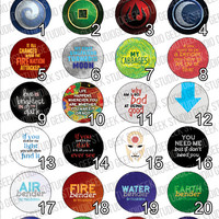 Avatar Button Set - Choose Any 6