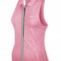 Nike Women's Summer Dri-Fit Touch Sleeveless Polo