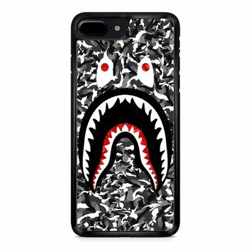 Bape Camo Shark Black iPhone 8 Plus Case
