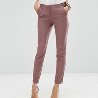 ASOS Tall | ASOS TALL Ankle Grazer Cigarette Pants in Crepe at ASOS