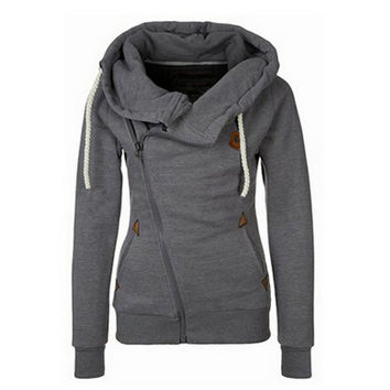 New Personality Women Hoodies Sports Suit