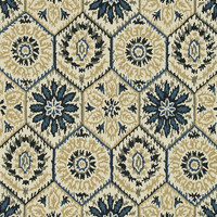 "Loloi Rugs - Taylor - 5'-0"" X 7'-6"" - Ivory / Navy"
