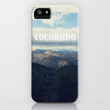 MOUNTAIN VIEW + TYPE iPhone Case by MK/W