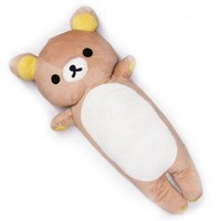 "Rilakkuma Bear Body Pillow Cuschion 34"" (Unit Price: $29.75) 1 Piece"