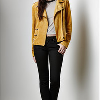 MinkPink Wild West Faux Suede Biker Jacket at PacSun.com
