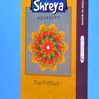 incense sticks shreya fill fulfilled Original, By Satya Brand WORLD'S FAMOUS , Hand rolled Ready to ship from India. export quality!