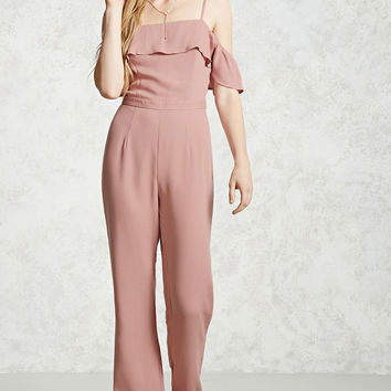 Contemporary Flounce Jumpsuit