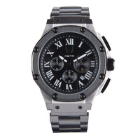 Meister Ambassador AM127SS Gun Metal & Titanium Grey Watch