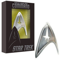 Starfleet Division Badge - Command - The Official Star Trek Store