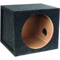 "Absolute SS-12 12"" Single Sealed Subwoofer Enclosure"