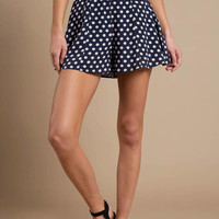 Connect The Dots Ruffle Shorts