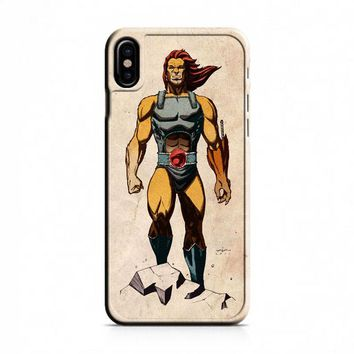 Thundercats (muscular) iPhone X Case