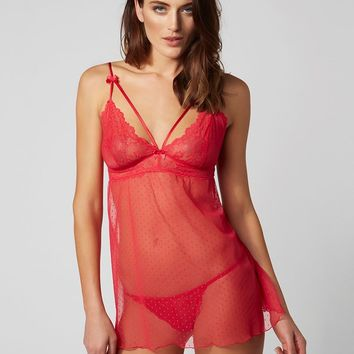 Boux Avenue Chemise And Thong