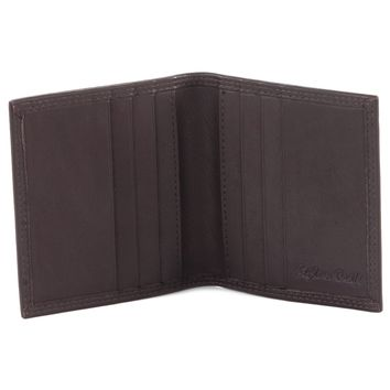 300703-BR Credit Card Case in Brown Leather | Style n Craft