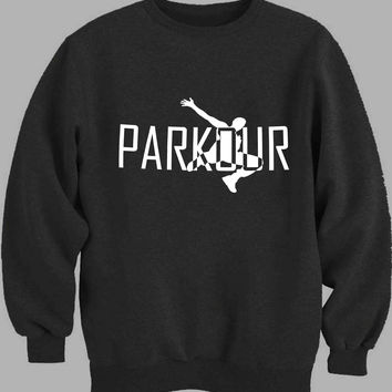 parkour-logo Sweater for Mens Sweater and Womens Sweater *