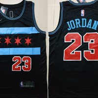 Chicago Bulls 23 Michael Jordan Swingman Jersey - City Edition