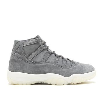 "AIR JORDAN 11 RETRO PREM ""GREY SUEDE"""