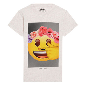 EMY Emoji Graphic T-Shirt
