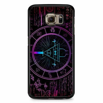 Bill Cipher Galaxy Samsung Galaxy S6 Case