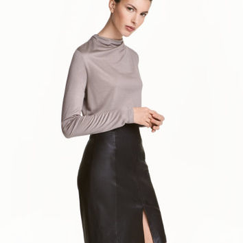 H&M Draped Top $19.99