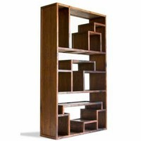 The Great Wall Bookcase - Tansu Asian Furniture Boutique