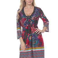 PAIGE Boho Chic Empire Waist Dress