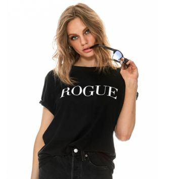 sub_urban riot - rogue loose tee - black