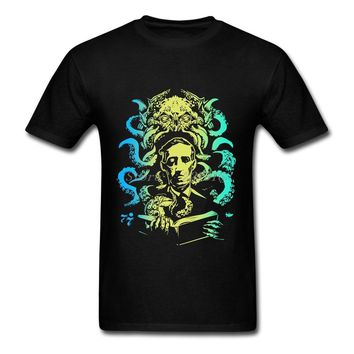 Hipster Sweet T Shirts Men Plus Size T DIY Lovecraft Cthulhu T-Shirt Adult Clothes Summer Tops