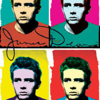 James Dean - Colors Prints at AllPosters.com