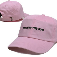 Made In The 90's Dad Hats