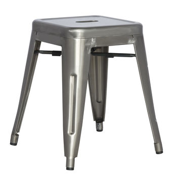 Galvanized Steel Side Chair (Set of 4)