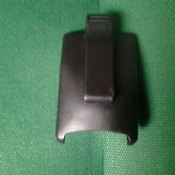 Black Durable Plastic Flip Phone Belt Clip