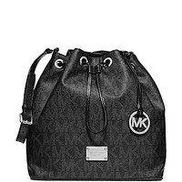 MICHAEL Michael Kors Signature Jules Large Drawstring Shoulder Bag - B
