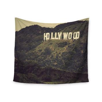 "Catherine McDonald ""Hollywood"" Wall Tapestry"