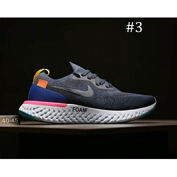 Nike Odyssey React & OFF-WHITE Joint Series Ultra Light Breathable cushioning running shoes F-A0-HXYDXPF #3