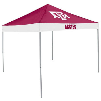 Texas A&M Aggies NCAA 9' x 9' Economy 2 Logo Pop-Up Canopy Tailgate Tent