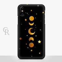 Moon Phases iPhone 8 Plus Case For iPhone 8 iPhone 8 Plus - iPhone X - iPhone 7 Plus - iPhone 6 - iPhone 6S - iPhone SE - Samsung S8