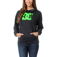 DC Girls T-Star Charcoal Grey Hoodie