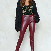 Close Quarters Faux Leather Leggings