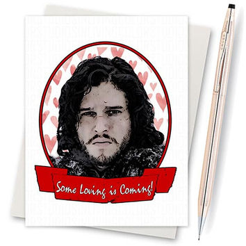 Game Of Thrones Card - Anniversary Card - Girlfriend Card - Card For Him - Card For Girlfriend - Boyfriend Card - Funny Love Card Boyfriend