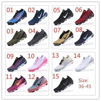 100% Original Nike Air Vapormax 2019 15 colors flying line(36-45)ready stock