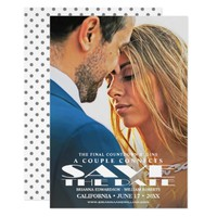 Save the Date Card   Movie Poster Photo Invitation