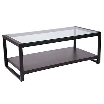 Rosedale Coffee Table with Metal Frame